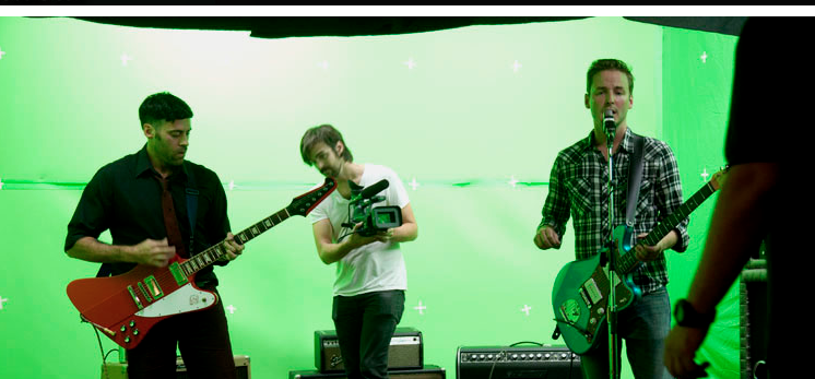 "We just released the Green-Screening Project video for ""See Clear"" produced by our good friend..."