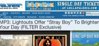 "We're super excited to finally release a new original tune. Filter Magazine did us the honor of premiering ""Stray Boy.""..."