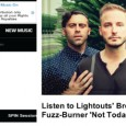 Huge thanks to SPIN for premiering the album opener: Listen to Lightouts' Brooklyn-Bred Jangle-Pop Fuzz-Burner...