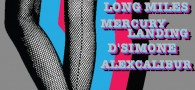 LIGHTOUTS / LONG MILES / MERCURY LANDING / D'SIMONE / ALEXCALIBUR Friday, 5/3 @ Arlene's...